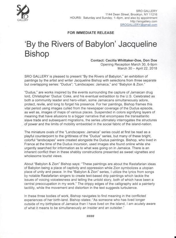 JB Press release